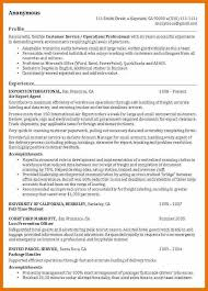 profile resume example resume summary example letter format and