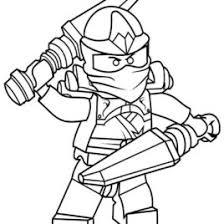 ninja coloring pages download print free blue ninja