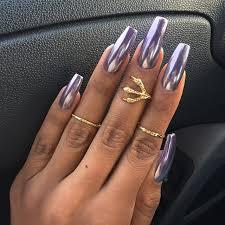 chrome nails followbeautywithc nails pinterest chrome nails