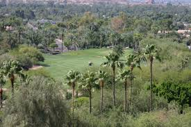canyon oasis at phoenician the in scottsdale arizona usa golf