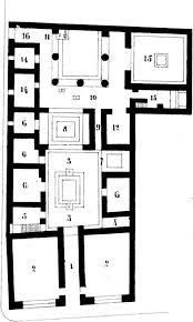 roman insula floor plan file pompeii region vi insula 8 house 3 plan 01 jpg wikimedia commons