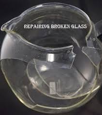 how to repair broken glass how to use uv adhesive for repairing broken glass home pinterest