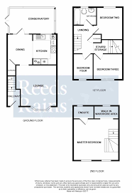 Conservatory Floor Plans 4 Bedroom Semi Detached House For Sale Hardy Close Chatham Kent