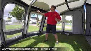 Sunncamp Air Awning Sunncamp Inceptor Air Plus Awning 2017 Review Youtube