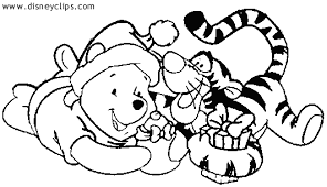 disney christmas coloring pages 01 disney christmas 11 coloring