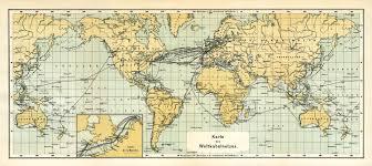 Image Of World Map History Of The Atlantic Cable U0026 Submarine Telegraphy Submarine