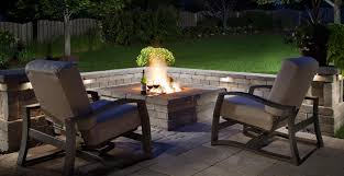 Belgard Brighton Fireplace by Fall Back Light Up The Night Despite The Time Change Outdoor