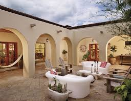 Hacienda Home Interiors by Designing The West Living Outside Western Art U0026 Architecture