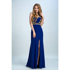 royal blue dress hot sale floor length prom evening dress royal blue dresses