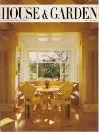 House 1985 by House U0026 Garden April 1985 1980 U0027s Design Magazine Theodate Pope