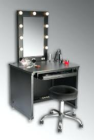 Ikea Vanity Lights by Vanity Table With Lights Around Mirror Decorative Desk Decoration