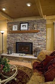 Fireplace Refacing Kits by River Rock Fireplace Refacing To Reface A Brick Fireplace
