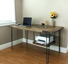 modern desk with storage modern desk with storage under desk printer stand wood large image