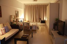 like the shelves to separate the bed and living area in a studio