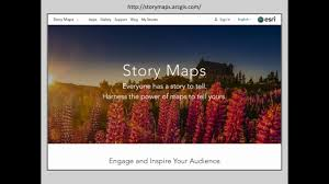 Story Maps Webinar Share Your Story With Maps Esri Story Maps Youtube