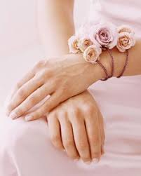 How To Make A Wrist Corsage Hellebore Rosemary Lavender And Thistle Wrist Corsage By Grace