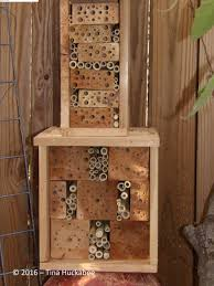 Townhouse Or House by Wildlife Wednesday February 2016 Bee House Buzz My Gardener Says U2026