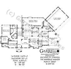 leed house plans marseille manor house plan house plans by garrell associates inc