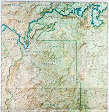 Prescott Arizona Map trail map of mazatzal u0026 pine mountain wilderness areas coconino