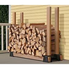 Diy Firewood Rack Plans by 9 Super Easy Diy Outdoor Firewood Racks The Garden Glove