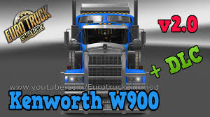 kenworth accessories kenworth w900 v 2 0 dlc v 2 0 ets 2 youtube