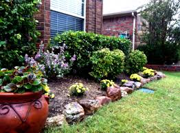 landscaping front yard landscaping ideas with rocks rock