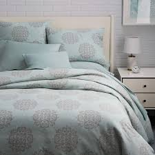 West Elm Duvet Covers Sale Organic Scroll Medallion Duvet Cover Shams West Elm