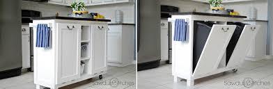 kitchen island trash bin modern kitchen trash can ideas for waste management