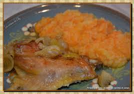 panais cuisine pintade à la bière écrasée de panais et carottes la cuisine de lilly