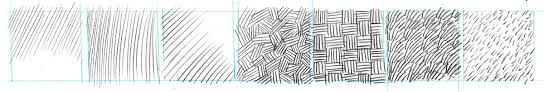 dynamic drawing archive pattern texture and technique exercises