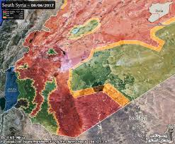 us desert map backed forces attacking syrian army in damascus desert map