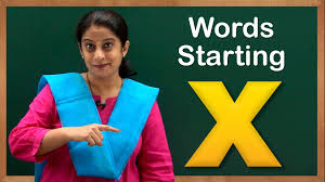 learn words starting with x flash cards u2013 words starting with