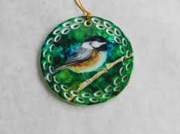 chickadee ornament flynn