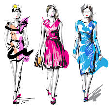 fashion design sketches of dresses how to make them properly