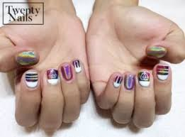latest trend hologram nails get yours done today at twenty nails