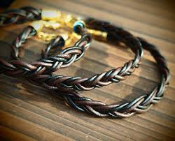 make bracelet with leather cord images Real leather cord for diy bracelets 1 8mm black quality cow real jpg