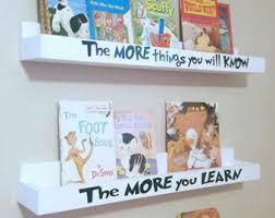 Wall Mount Book Shelves Wall Mounted Shelves Etsy