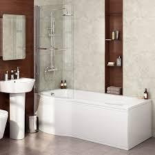 bathtub side panel nujits com 1600mm left p shape shower bath acrylic bathtub screen panel