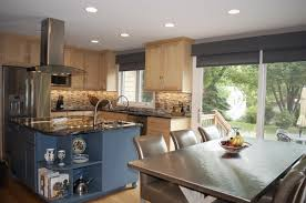 Contemporary Open Floor House Plans by Open Concept House Plans With Large Kitchen Arts
