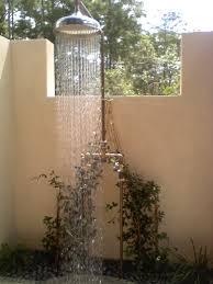 Outdoor Shower Mirror - portable shower enclosure indoor shower exterior outdoor shower