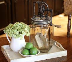 everyday kitchen table centerpiece ideas kitchen table idea a little old school but still cute table