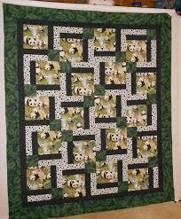25 unique panda quilt ideas on patchwork patterns