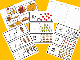 c kindergarten five turkeys freebie and thanksgiving math