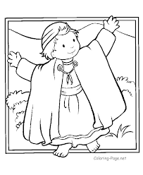 samuel coloring pages from the bible joseph coat bible coloring pages printables free coloring page