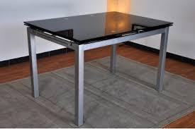 table de cuisine en verre trempé verre cuisine