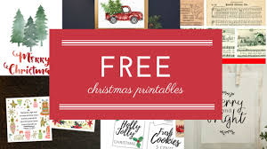 Free Christmas Decorations Free Christmas Printables To Frame As Decoration Southern Savers