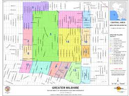 Greater Los Angeles Map by Map U2013 The Greater Wilshire Neighborhood Council