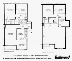 Split Level Floor Plans 1970 Mid Century Modern And 1970s Era Ottawa Mid Century Modern Semi