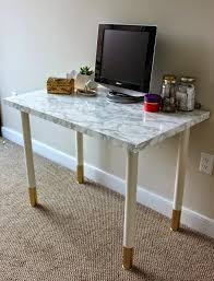 Paper Table L How To With Marble Contact Paper