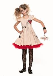 kids halloween clothes child voodoo doll costume